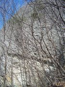 Rock Climbing Photo: Albawi, the moderate crag.
