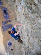 Rock Climbing Photo: Dave on ÀÔ¹®     , 5.10d, Opera House.