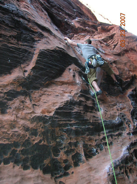 Rock Climbing Photo: second clip