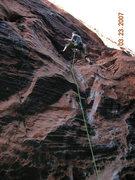 Rock Climbing Photo: higher up