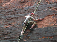 Rock Climbing Photo: Fun climbing in the black corridor