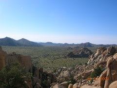 Rock Climbing Photo: View from Rock Garden Valley