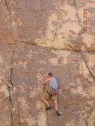 Rock Climbing Photo: negotiating the seam