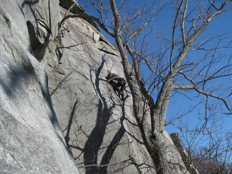 moving through the crux