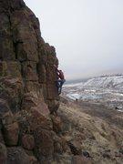 Rock Climbing Photo: Coughing up Hair-balls.
