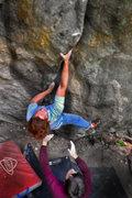 "Rock Climbing Photo: Luke Childers on ""Trainspotting v12.""  C..."