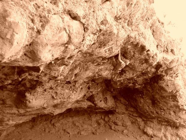 Rock Climbing Photo: Crystal Cave NM