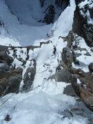 Rock Climbing Photo: Steve Berwanger getting ready to rappel down the b...