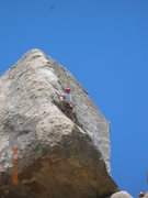 Rock Climbing Photo: leading