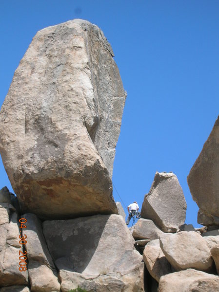 Rock Climbing Photo: cool feature