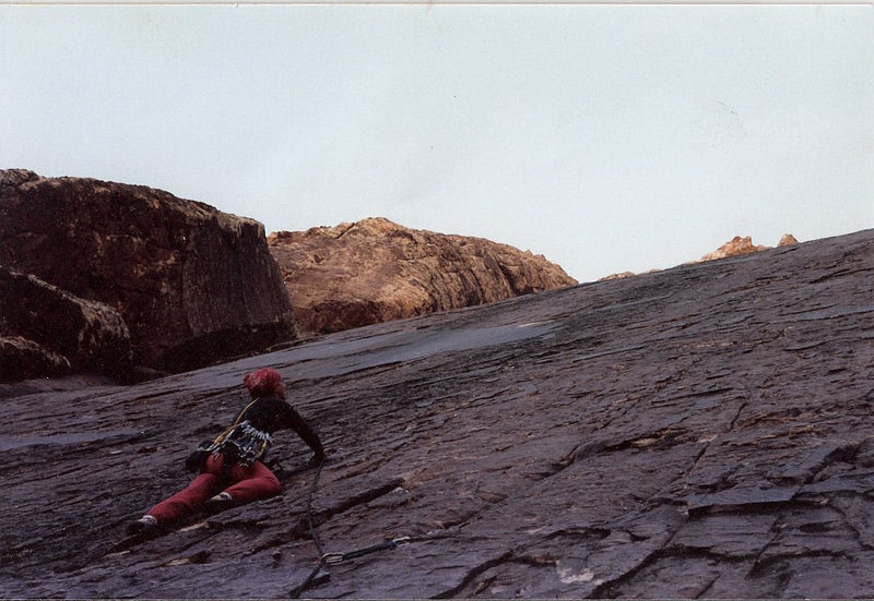 Rock Climbing Photo: Rock Warrior, Thanksgiving 1987.