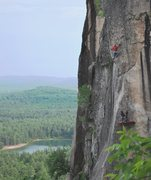 Rock Climbing Photo: Edge of the World. Photo by Kayte Knower.