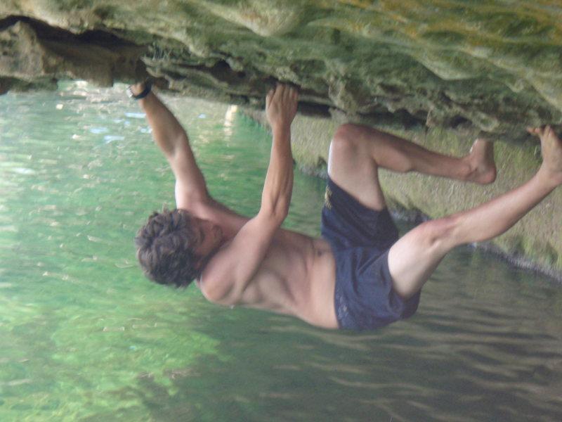 Rock Climbing Photo: Me on Acid Test