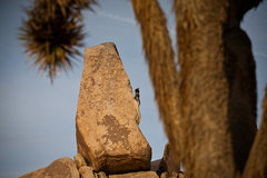 Rock Climbing Photo: Headstone Rock