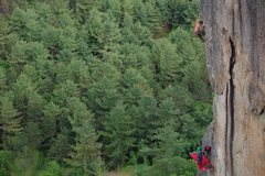 Rock Climbing Photo: Edge of the World. Photo by Ladd Raine.