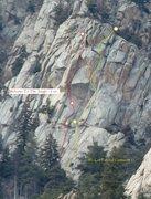 Rock Climbing Photo: We Got Fun and Games in yellow.