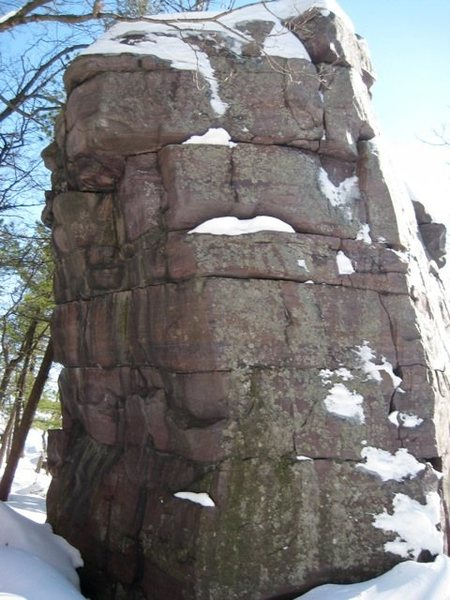 Leaning Tower's Northeast and Northwest faces.