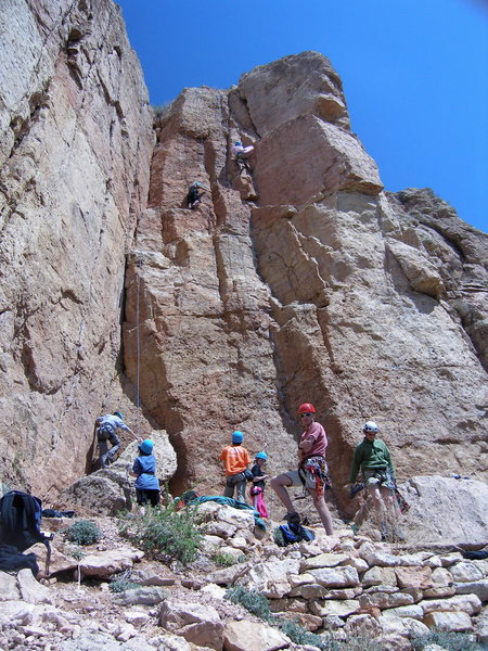 Rock Climbing Photo: Busy day!