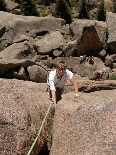 Rock Climbing Photo: Nice jams.
