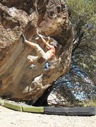 Rock Climbing Photo: Hueco warm-up