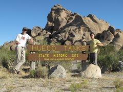Rock Climbing Photo: Welcome to Hueco