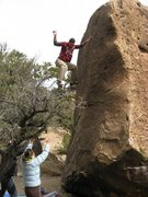 Rock Climbing Photo: Bouldering FAIL!