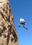 Rock Climbing Photo: Geir's cheap airline ticket