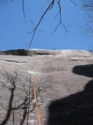 Rock Climbing Photo: View from below