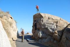 Rock Climbing Photo: climbing off the main road