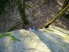 Rock Climbing Photo: Trevor Edwards on Ecocide