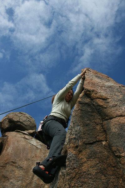 Rock Climbing Photo: Agina 2-20-10