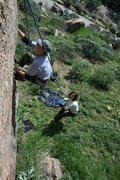 Rock Climbing Photo: Me 2-20-10