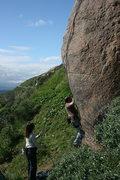 Rock Climbing Photo: Nathan  2-20-10