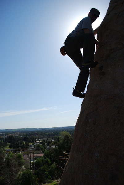 Rock Climbing Photo: Bill Odenthal