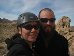Rock Climbing Photo: me & Nate at the start of our day stoked to be at ...