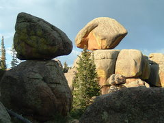Rock Climbing Photo: No place like Vedauwoo (taken on east side of the ...