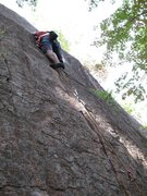 Rock Climbing Photo: some people say the start's the crux, but I defini...