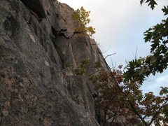 Rock Climbing Photo: Gunklandia (Reg Route) You can see the line, along...