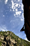 Rock Climbing Photo: Boulder Canyon, Grand Inquisitor, Adam Brink
