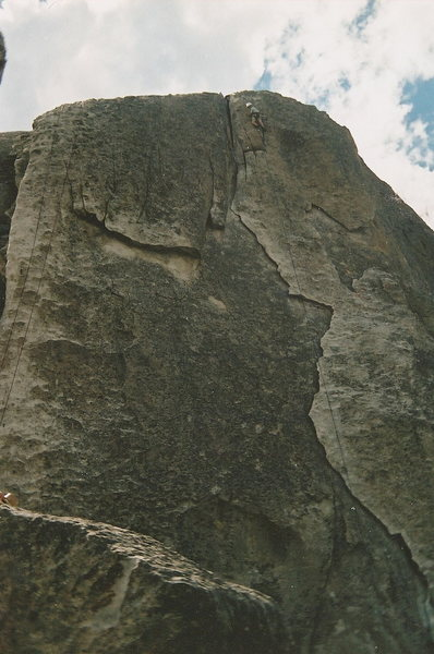 Rye Crisp at city of rocks in Idaho when I was young. Fun climb!
