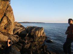 Rock Climbing Photo: belay duty