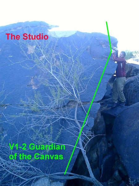Rock Climbing Photo: The studio