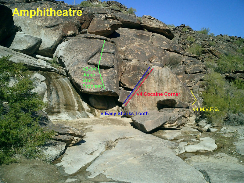 Rock Climbing Photo: Amphitheater