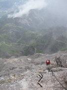 Rock Climbing Photo: Alpspitze Klettersteig on really fun day