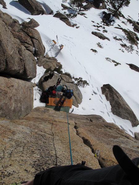 Rock Climbing Photo: Climbing in Feburary