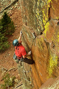 Rock Climbing Photo: Pony Express Climber Adam Brink