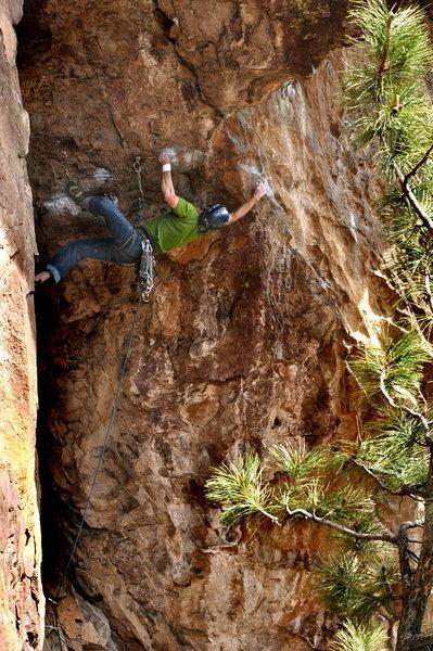 Rock Climbing Photo: Eldorado Canyon, Kloeberdanz Adam Brink