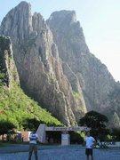 Rock Climbing Photo: welcome to Potrero