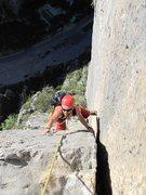 Rock Climbing Photo: Bobeck on Estrellita, 12 pitches, 11b