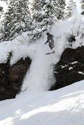 Rock Climbing Photo: EV 2010 Skier: AP   Photo: JC